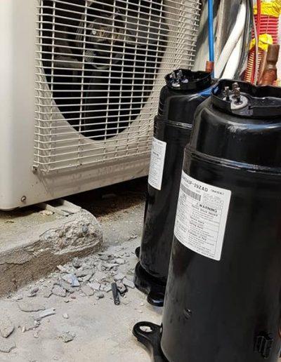 Compresseur de climatisation sorti